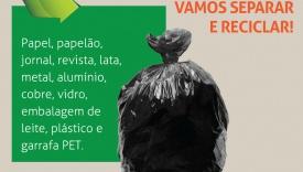 VERIFIQUE O QUE PODE SER RECICLADO