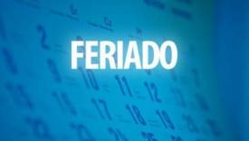 FERIADO DIA DO TRABALHADOR