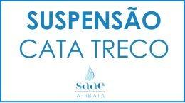 Suspensão temporária Cata-Treco