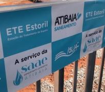 Estação de Tratamento de Esgoto Estoril.